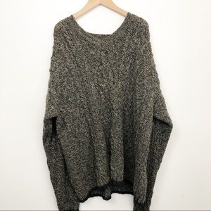 VTG Abercrombie & Fits Outdoors 100% Wool Sweater